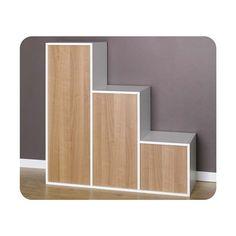 Etagères - 6 cubes de rangement Escalier modulables