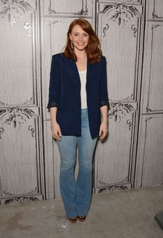 Bryce Dallas Howard - AOL BUILD Speaker Series: Bryce Dallas Howard Discusses Her New Film 'Jurassic World' in NYC 6/1/2015