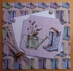 Craftwork Cards: Potting Shed ll