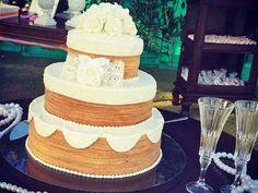 Nova tend�ncia: Naked Cake Bolo de rolo
