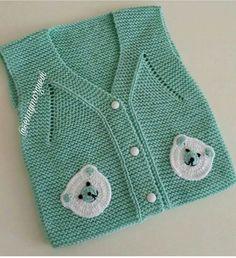40 Different Winter Baby Knitting Patterns You Will Admire Baby Knitting Patterns, Knitting Designs, Baby Vest, Baby Cardigan, Beautiful Dress Designs, Crochet Headband Pattern, Baby Winter, Sweater Design, Knit Fashion
