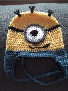 Loveable 1 Eyed Minion on Etsy, $20.00