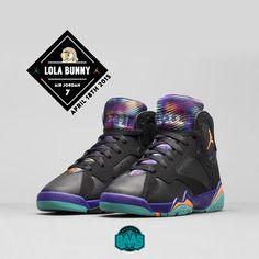 "#jordan #michaeljordan #jordankicks #lolabunny #sneakerbaas #baasbovenbaas  Air Jordan 7 Retro GS ""Lola Bunny"" - This saturday, 09:00 AM! LADIES ONLY!  For more info about your order please send an e-mail to webshop #sneakerbaas.com!"