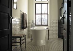Old Stone Farmhouse Master Bath - Traditional - Bathroom - Images by In Home Designs   Wayfair