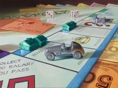 Doug Bloodworth's Monopoly - oil paint