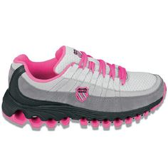 Athletics K-Swiss Women's Tubes 100 Backatcha Blk Fade/Pink Berry FamousFootwear.com