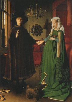 Jan van Eyck (c. 1390-1441) The Arnolfini Marriage,  1434