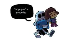 when Sans notices Frisk starting to do a genocide run