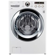 LG Electronics 4.0 DOE cu. ft. High-Efficiency Front Load Washer with Steam in White, ENERGY STAR-WM3250HWA at The Home Depot