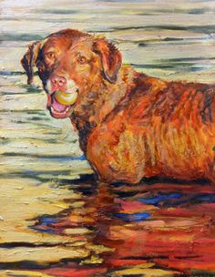 Pet Portrait in oil of your dog, cat, horse, cow, bird or any animal
