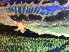 Now Listing eBay! Original 9x12 Soft Pastel by Tim Bruneau! Don't Miss These Deals!  Artist Seascape Pastels Original Tim Bruneau Impressionism Signed #Impressionism