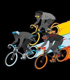 Ride to Live illustration by matttaylordraws
