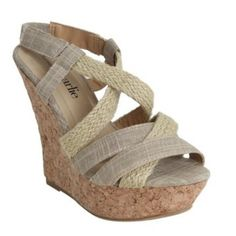 NEW Sophie Espadrille Canvas Twist Cork Wedges NEW Sophie Espadrille Canvas Twist Cork Wedge Sandals. Fabric has subtle glitter specks in it. Made for comfort. Light and easy to walk around in & goes with almost any outfit! Shoes Espadrilles