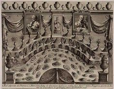 Sumptuous display by Gaetano de Luca at his pharmacy in Rome, 1750. Sugar was first sold with drugs and herbs at apothecary shops, as seen in this ..Like spices in the early modern era, sugar was a rare and much prized substance used by the rich for true conspicuous consumption. Sugar had multiple roles, serving as a medicine, a sweetener for beverages, and an ingredient for pastry and confections.  Table decorations made of sugar paste had been featured in banquets since the Middle Ages…