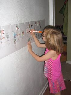 The child makes a timeline of their life, highlighting important things that have happened to them since birth. Great introduction to the concept of history timelines. Personal Timeline, Make A Timeline, Personal History, Dbt, Social Studies, Homeschool, Concept, Shit Happens, Children