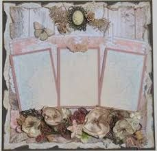 Image result for shabby chic scrapbooking