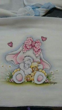 Elefantinha com ursinho …: