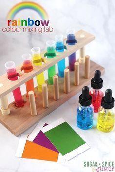 Experimente Kinder Farben In 2020 Experimente Kinder