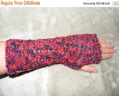 ON SALE Fancy Lace Fingerless Hand by KnittingBlissDesigns on Etsy Lace Gloves, Fingerless Gloves, Art Crafts, Sell On Etsy, Early Morning, Red Black, Arm Warmers, Hand Knitting, Fancy