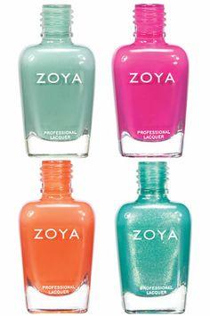 Best Summer Nail Polish: Zoya Beach & Surf Collection