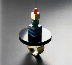 """Jewelry by Architects """"In the early '80s, Cleto Munari — who, as far as we can tell, is unrelated to Bruno — commissioned a dream-team of architects like Ettore Sottsass and Peter Eisenman to create a jewelry collection for his eponymous company … The full collection comprises more than 150 pieces designed between 1982 and 1986, and the book documents them with accompanying sketches by and interviews with their creators."""""""
