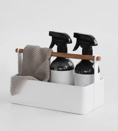 and the cleaning caddy has never looked this good. • give your kitchen and laundry a little makeover with Yamazaki Home • Find them all at…