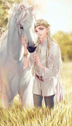 Young Prince Legolas