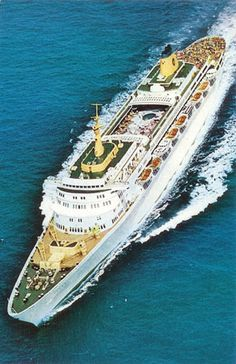 The SS Oceanic. Part of Home Lines #maritime