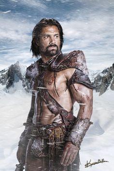 My favorite Spartacus Liam Mcintyre, Spartacus Tv Series, Gladiator Arena, Spartacus Blood And Sand, Manu Bennett, Love My Man, Fantasy Armor, Viking Age, Celebrities