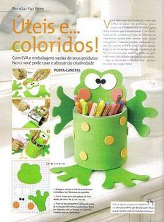 Pencil cup, Galerinha Online: Porta-canetas