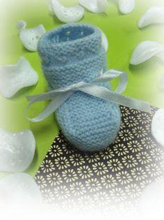 m a z m e l a: Guía para hacer PATUCOS de lana para bebé
