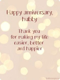 Cute Wedding Anniversary Wishes For Husband (With Images) wedding anniversary ecard for husband Happy Anniversary To My Husband, Anniversary Quotes For Parents, Happy Wedding Anniversary Wishes, Anniversary Quotes For Him, Happy Birthday Husband, Anniversary Funny, Anniversary Cards, Wedding Wishes Messages, Wedding Ceremony Ideas