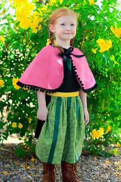 Pin for Later: 200+ Adorable Halloween Costumes For Your Trick-or-Treating Tot Frozen's Princess Anna