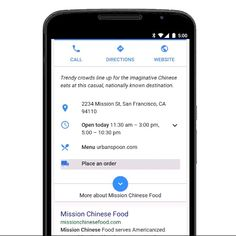 Google It to Get food Delivery option in restaurant listingd