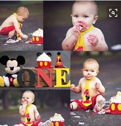 Mickey Mouse birthday outfit Includes diaper cover by BRBworkshop Mickey 1st Birthdays, Mickey Mouse Clubhouse Birthday, Mickey Mouse Birthday, Baby Boy 1st Birthday, Boy Birthday Parties, Birthday Ideas, Birthday Cake, Happy Birthday, Theme Mickey