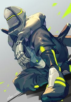Genji x Overwatch 2 Overwatch Video Game, Overwatch Genji, Overwatch Fan Art, Video Game Characters, Fantasy Characters, Shimada Brothers, Genji And Hanzo, Character Art, Character Design