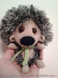 Project by Natalia Rogova. Hadgehog Kuka crochet pattern by Pertseva for LittleOwlsHut.#LittleOwlsHut#crochet pattern#hedgehog# amigurumi#Pertscrafts#DIY#crafts#toy#