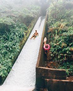 Jungle slides! / Hawaii / Gypsea Lust / via UNILAD Adventure /    theadventurouslife4us.tumblr.com Say Yes To Adventure