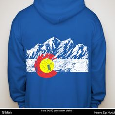 Colorado Kids Sweatshirt Tenn Street Goods Frisco Retro Bike /& Mountain Bike Youth Hoodie
