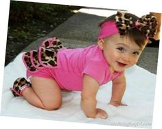 Little Leopard! when i have a little girl, she will have this (: