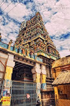 India - Tamil Nadu - Temples - Architecture