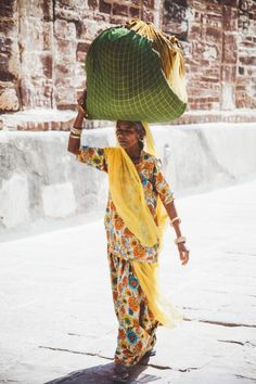 Textures and Colors of Indian Street Style Photo by Nomadic-Habit