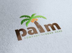 Palm Logo by Creative Dezing on @creativemarket