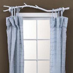 Barra de cortina con rama