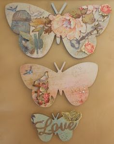 Kaisercraft - set of Butterflies I just finished