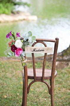 Mariage en plein air - Majenia Design