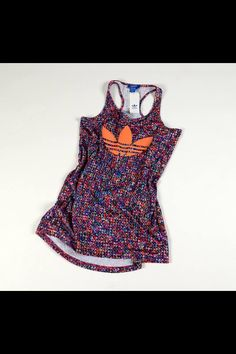7c121578a72e Adidas tank dress - perfect summer weekend wear or even beach cover-up!