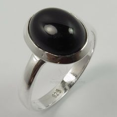 Marcasite Jewelry, Sterling Silver Jewelry, Onyx Engagement Ring, Silver Jewellery Indian, Black Onyx Ring, Small Rings, Handmade Rings, Gemstone Rings, Gemstones