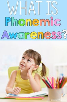 What is Phonemic and phonological awareness and why is it impotant. Free download included