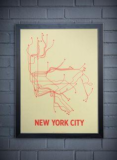 New York Transit Linework